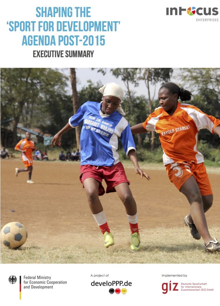 Shaping the Sport for Development Agenda Post – 2015