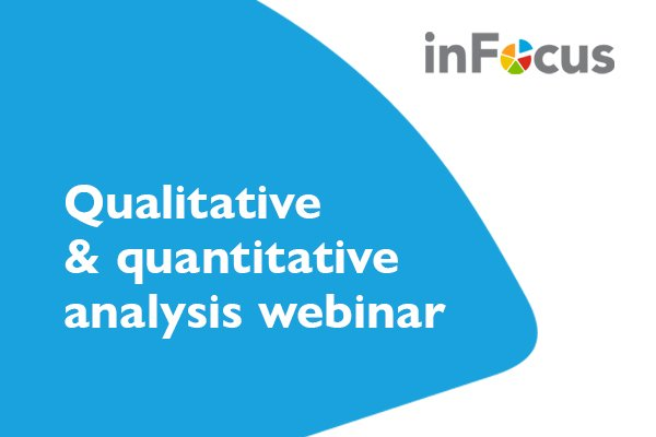 Open access to our analysis webinar this Friday 19th
