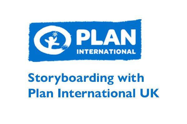 Storyboarding with Plan International UK