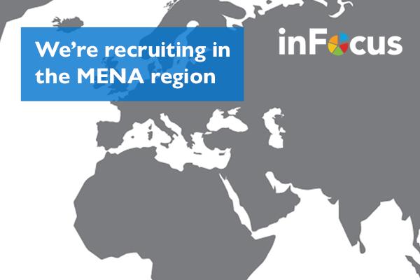 We're recruiting associates in the MENA region